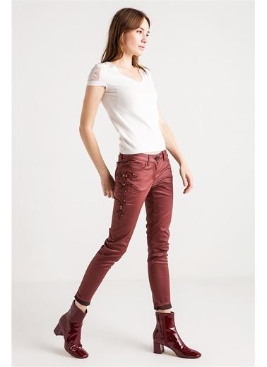 Love'n Fashion Paris Pantolon Bordo
